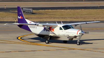 A picture of N990FX - Cessna 208B Grand Caravan - FedEx - © wangruoyao