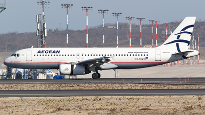 A picture of SXDVW - Airbus A320232 - Aegean Airlines - © Bora Polater