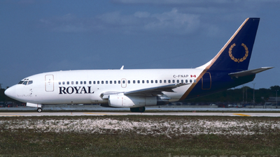 C-FNAP - Boeing 737-242C - Royal Airlines