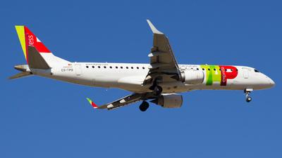 CS-TPO - Embraer ERJ-190LR - TAP Express - Flightradar24