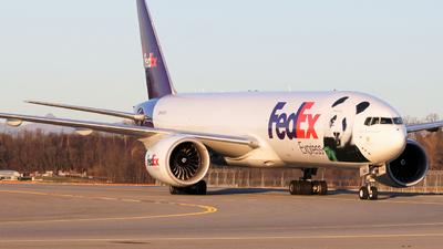 N883FD - Boeing 777-FHT - FedEx