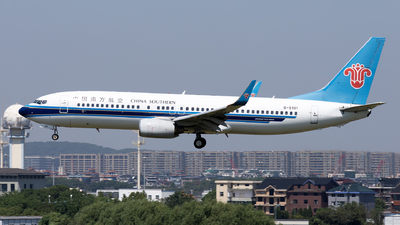A picture of B5191 - Boeing 73781B - China Southern Airlines - © XPHNGB