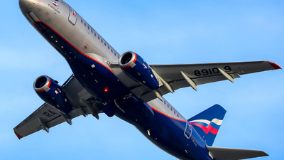 RA-89109 - Sukhoi Superjet 100-95B - Aeroflot