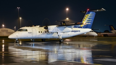 VH-XFQ - Bombardier Dash 8-106 - Skippers Aviation