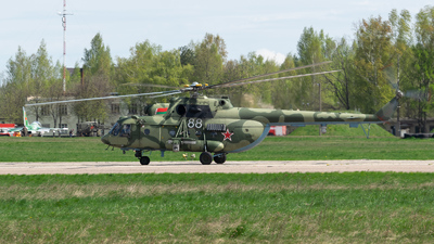 88 - Mil Mi-8MTV-5 Hip - Belarus - Air Force