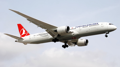 TC-LLJ - Boeing 787-9 Dreamliner - Turkish Airlines