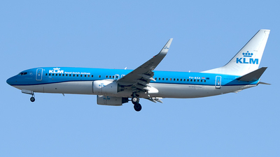 A picture of PHBXA - Boeing 7378K2 - KLM - © Diego Navarro