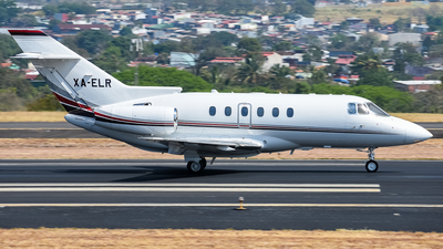 XA-ELR - Raytheon Hawker 800XP - Private