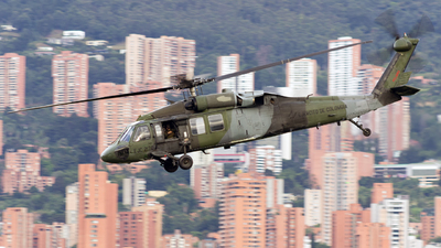 EJC2170 - Sikorsky UH-60L Blackhawk - Colombia - Army
