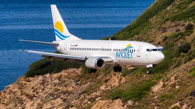 YU-ANJ - Boeing 737-3H9 - Aviolet