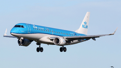 A picture of PHEZC - Embraer E190STD - KLM - © Kay Hansen