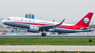 A picture of FWWDV - Airbus A320200N - Airbus - © JohnMPeng