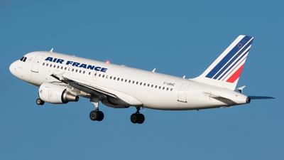 F-GRHC - Airbus A319-111 - Air France