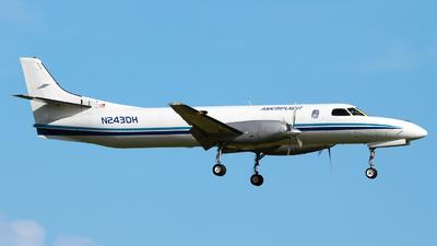 A picture of N243DH - Fairchild Swearingen Metroliner - Ameriflight - © Angel Natal