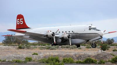 N8502R - Douglas C-54E Skymaster - Alaska Air Fuel