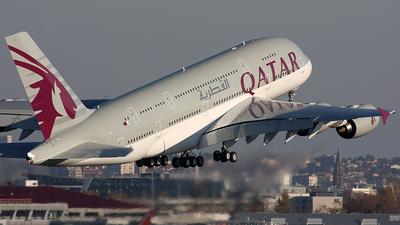 F-WWAL - Airbus A380-861 - Qatar Airways