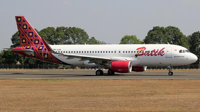 PK-LUS - Airbus A320-214 - Batik Air