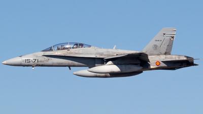 CE.15-2 - McDonnell Douglas EF-18BM Hornet - Spain - Air Force