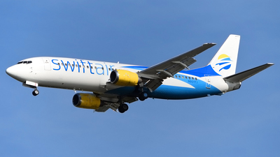 N801TJ - Boeing 737-4B7 - Swift Air