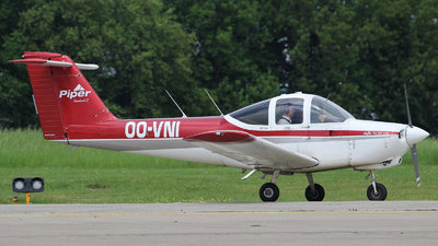 OO-VNI - Piper PA-38-112 Tomahawk - Brussels Aviation School