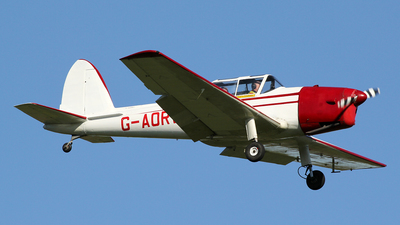 G-AORW - De Havilland Canada DHC-1 Chipmunk 22 - Private