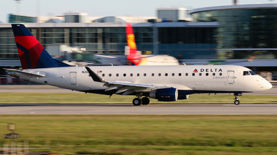 A picture of N263SY - Embraer E175LR - Delta Air Lines - © Luft Spotter