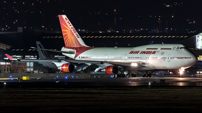 VT-EVA - Boeing 747-437 - Air India