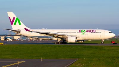 A picture of ECMTU - Airbus A330223 - Wamos Air - © Tele