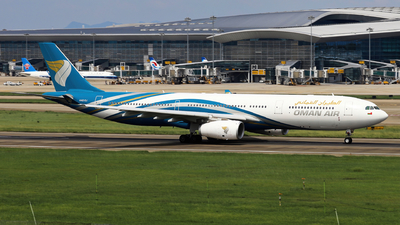 A picture of A4ODJ - Airbus A330343 - Oman Air - © Fang Xiaoyu