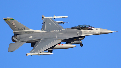 86-0309 - Lockheed Martin F-16C Fighting Falcon - United States - US Air Force (USAF)