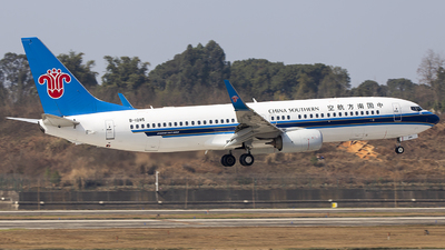 A picture of B1285 - Boeing 73781B - China Southern Airlines - © XieTM