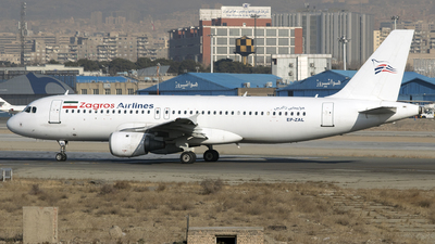 EP-ZAL - Airbus A320-211 - Zagros Airlines