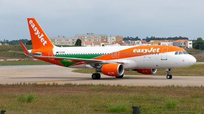A picture of GEZPD - Airbus A320214 - easyJet - © Rui Marques