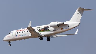 EC-HEK - Bombardier CRJ-200ER - Iberia Regional (Air Nostrum)