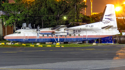 PT-LAH - Fokker F27-600 Friendship - Tavaj Linhas Aéreas