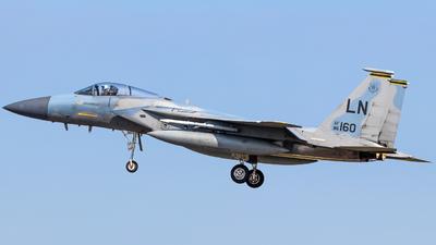 86-0160 - McDonnell Douglas F-15C Eagle - United States - US Air Force (USAF)