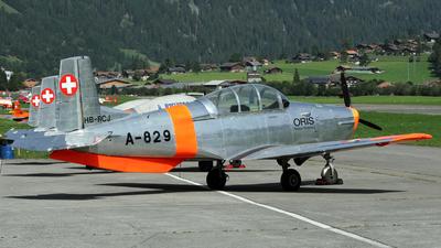HB-RCJ - Pilatus P-3-05 - P3 Flyers Ticino