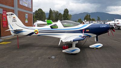 FAC2465 - Lancair-CIAC T-90 Calima - Colombia - Air Force