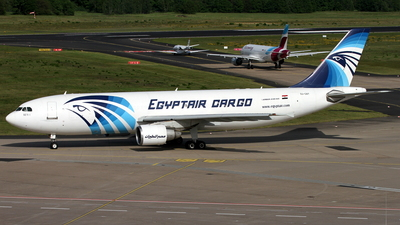 SU-GAY - Airbus A300B4-622R(F) - EgyptAir Cargo