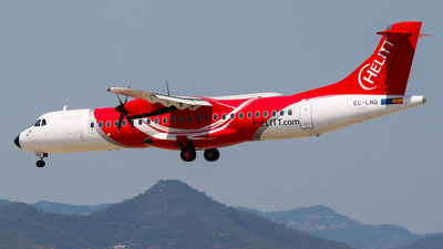 EC-LNQ - ATR 72-202 - Helitt Líneas Aéreas