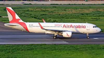A picture of A6AUB - Airbus A320214 - Air Arabia - © Raihan Ahmed