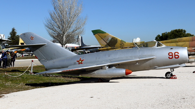 96 - Mikoyan-Gurevich MiG-17 Fresco - Bulgaria - Air Force