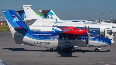 RA-67059 - Let L-410UVP Turbolet - Siberian Light Aviation (SiLA)
