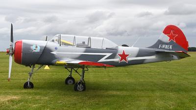 F-WRUK - Yakovlev Yak-52 - Private
