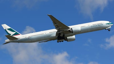 B-KQC - Boeing 777-367ER - Cathay Pacific Airways