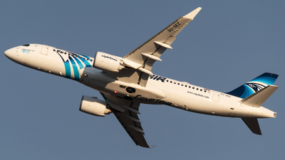 A picture of SUGEZ - Airbus A220300 - EgyptAir - © Christian Tondo