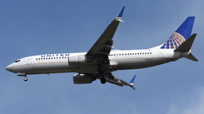 A picture of N14237 - Boeing 737824 - United Airlines - © DJ Reed - OPShots Photo Team