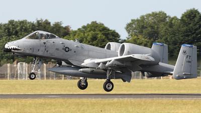 80-0188 - Fairchild A-10C Thunderbolt II - United States - US Air Force (USAF)