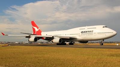 VH-OJE - Boeing 747-438 - Qantas