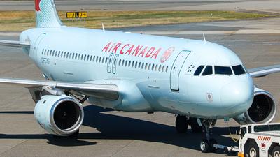 C-FGYS - Airbus A320-211 - Air Canada